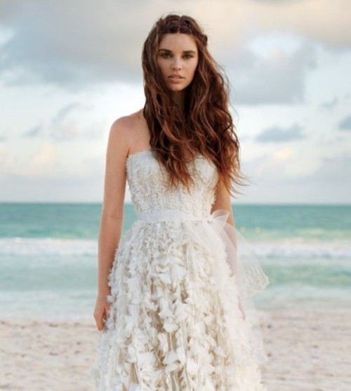 27 destination wedding hair ideas 1 500x557 - beach wedding updo hairstyles