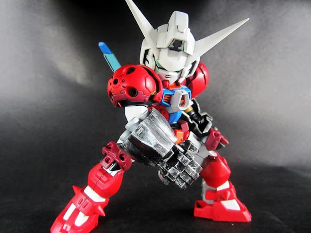 custom gundam build titus