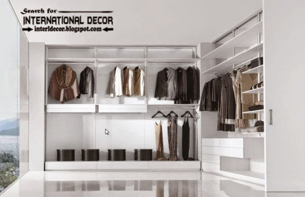 Wardrobe systems, closet designs for dressing room