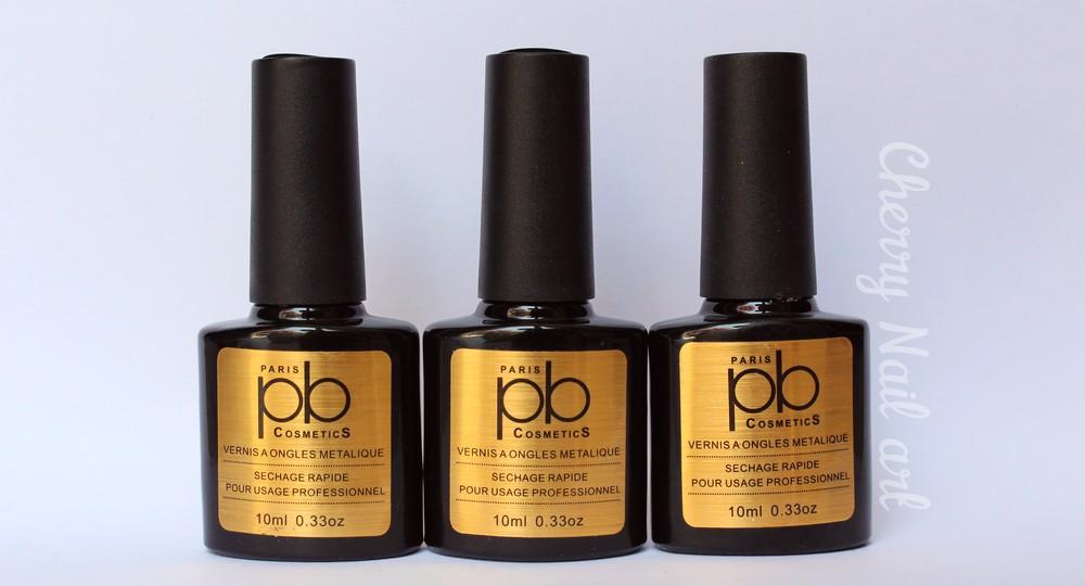vernis metalliques pb cosmetics