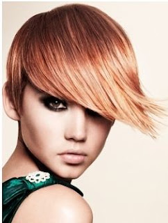 orange hair color trend for winter 2012