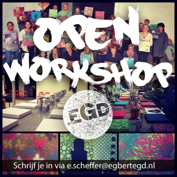 28 april 4de OPENworkshop.EGD MEIvakantie editie!