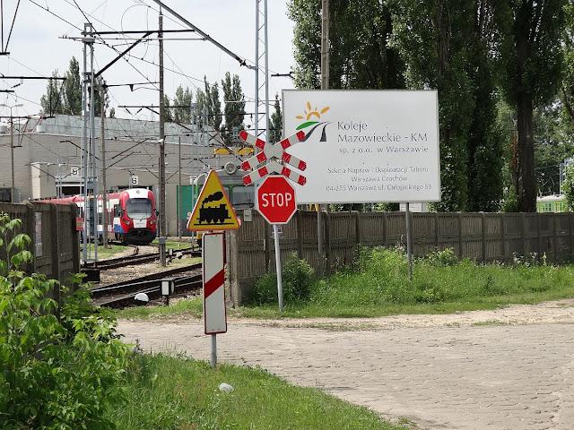 EN97-011 w Sekcji Napraw Kolei Mazowieckich na Grochowie.