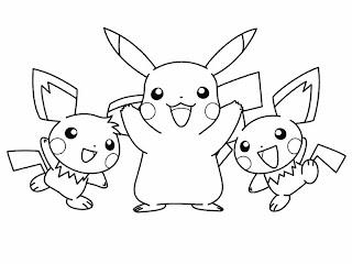 Desenhos do Pokemon para imprimir