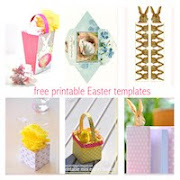Free printable easter templates: