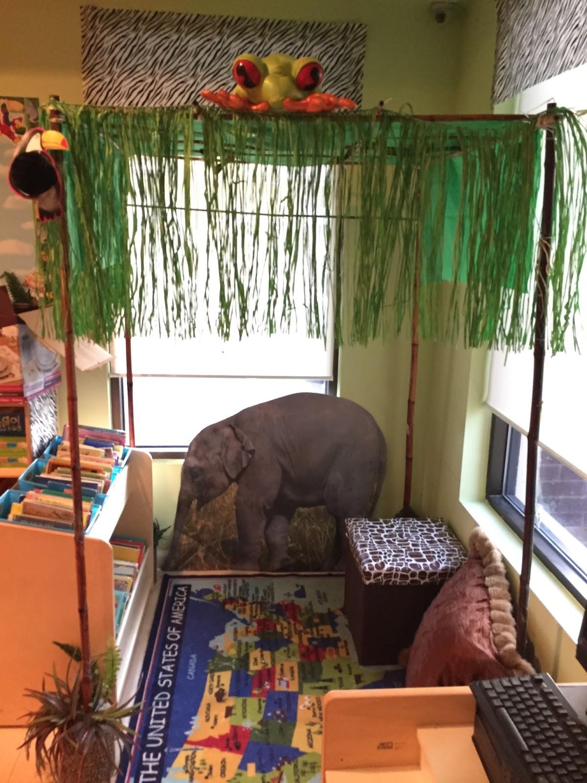kinder kuties  jungle safari theme classroom ideas