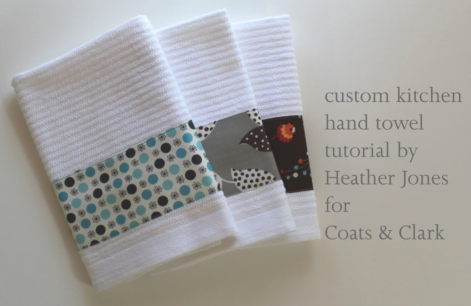 custom kitchen hand towels by heather jones - Decorative Hand Towels