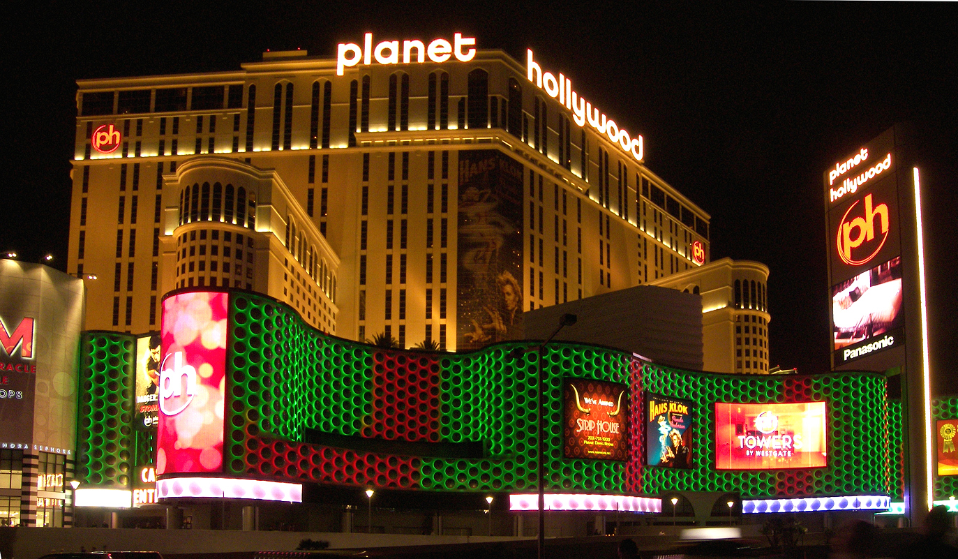 planet hollywood las