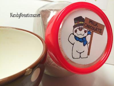 Snowman Sticker Printable