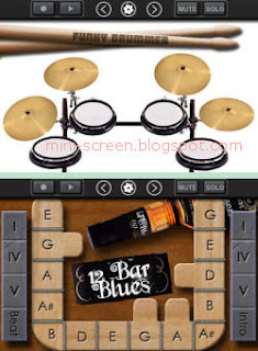 Band Music Creator and Composer App Interface on iPhone