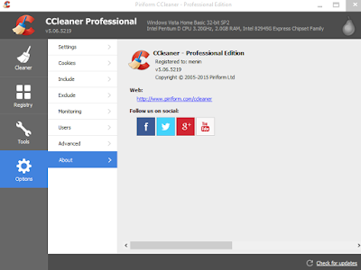 Terbaru CCleaner v5.06.5219 Full Version Gratis