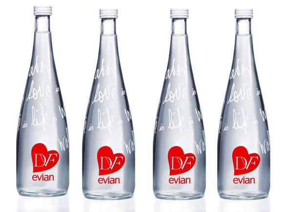 Lylou anne collection nouveau look pour evian ce no l - Evian bouteille verre ...