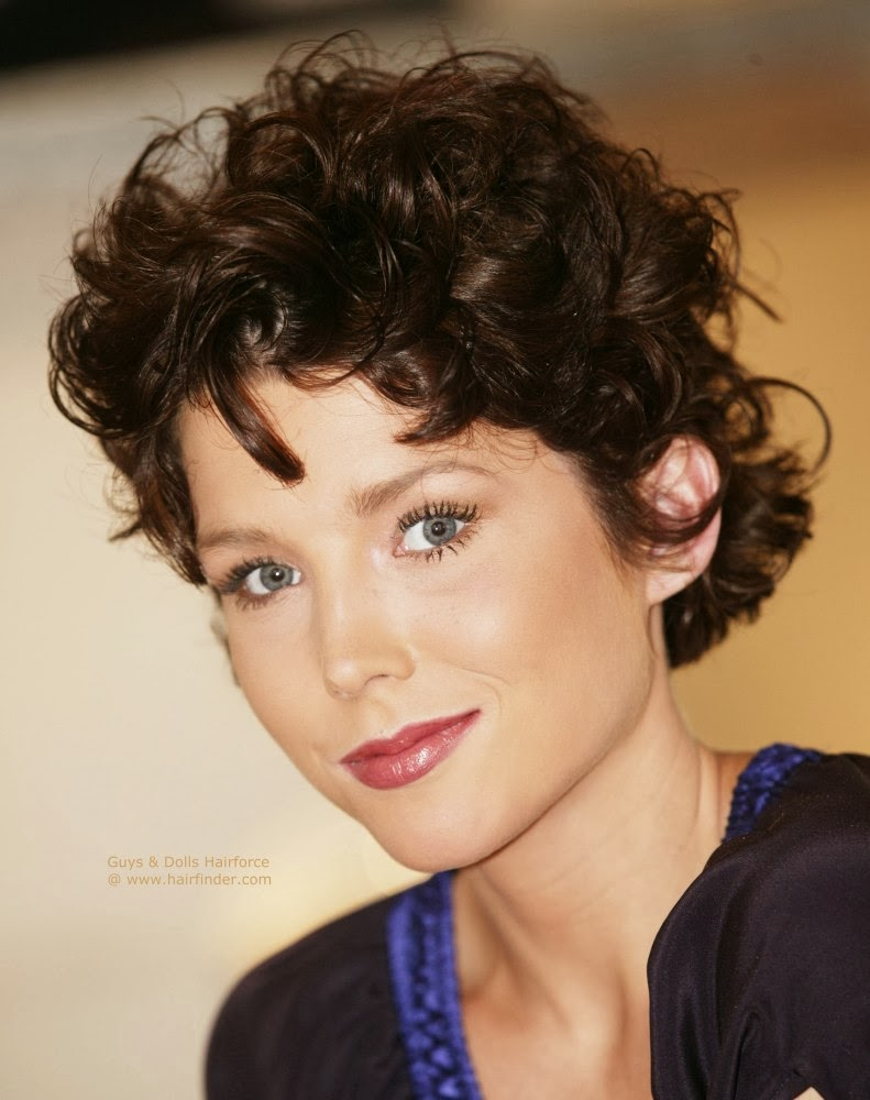 Short Hairstyles Curls New Innovative