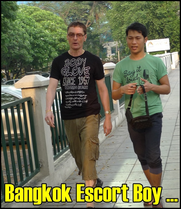 On our way there, I managed to snap a supposedly, gay escort? =)