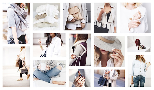 Katherine Penney Chic Blogger Fashion Style Inspiration Board Winter Trends Pastel