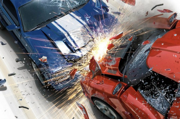 Kecelakaan di Tol Cempaka Putih