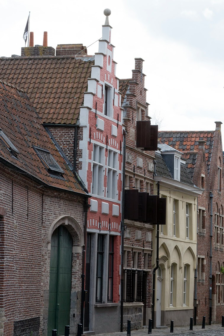 old little street