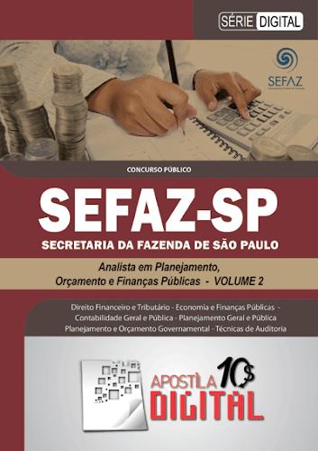 Apostila Digital SEFAZ Analista em Planejamento, Orçamento e Finanças Públicas - Volume 2 (cod ADSAPOFP2)
