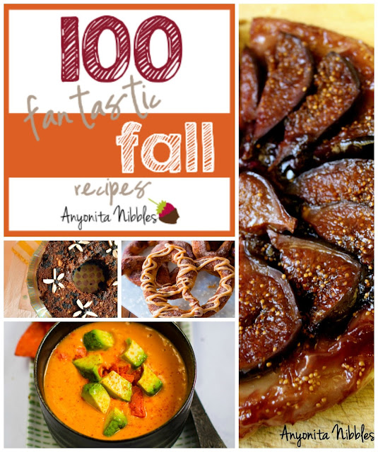 100 Fantastic Fall Recipes on www.anyonita-nibbles.com