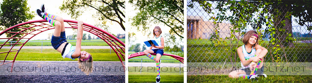 school playground photoshoot