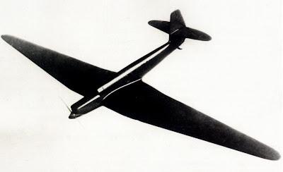 Деревянная продувочная модель самолета РД