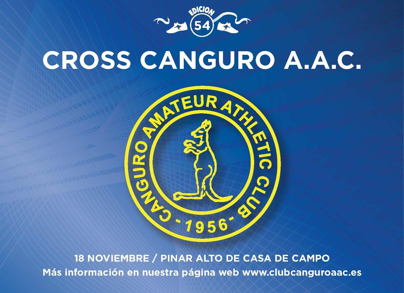 54º Cross Canguro 2018