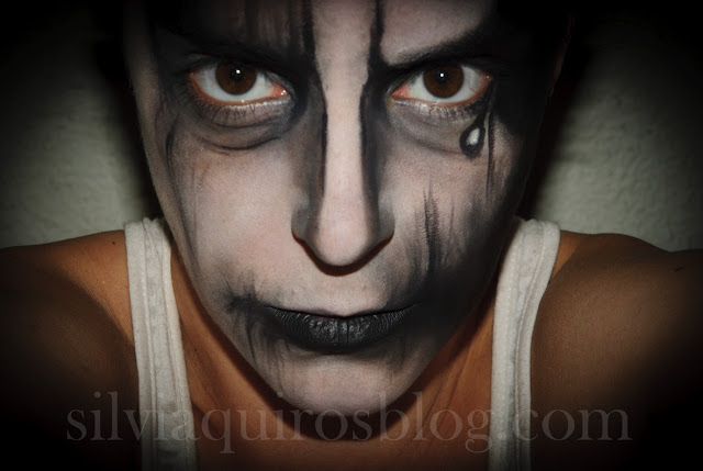 Black And White Halloween Makeup  Viewing Gallery - Black And White Halloween Makeup