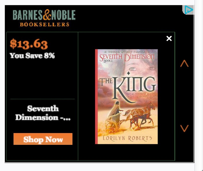 "Get ""The King"" at Barnes & Noble"
