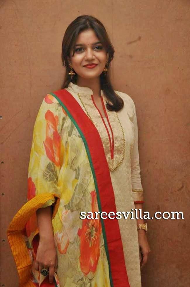 Swathi at Kulfi Movie Audio Launch