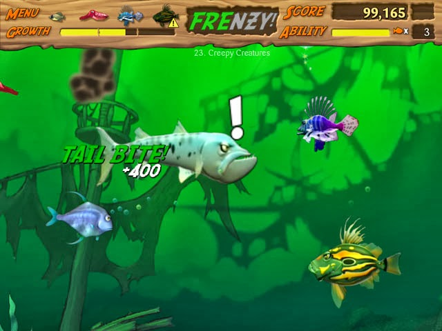 Feeding frenzy 2 free download full version game for Fish frenzy game