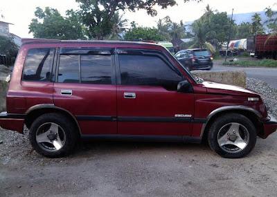Jual Mobil Bekas Suzuki Escudo Jlx Tahun Padang
