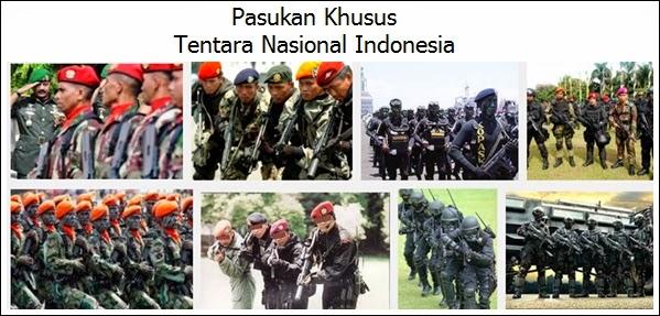 Pasukan Khusus Yang Dimiliki Indonesia
