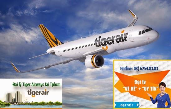 Đặt mua vé máy bay Tiger Air rẻ nhất ở Liên Kết Toàn Cầu