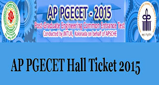 Ap Pgecet Hall Ticket