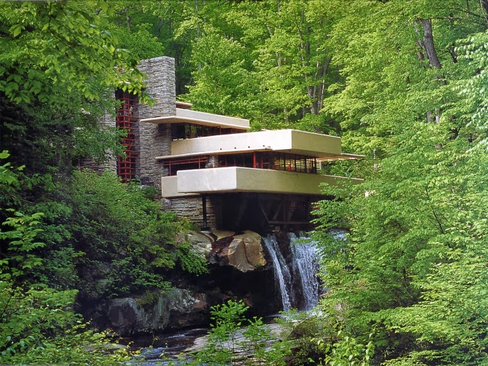 Owning A House Overlooking One, Of Course! The Fallingwater House Is Built  Over A Waterfall. The American Architect Frank Lloyd Wright Designed The  House ... Part 89