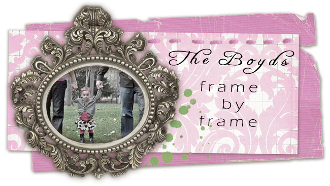 The Boyds: frame by frame