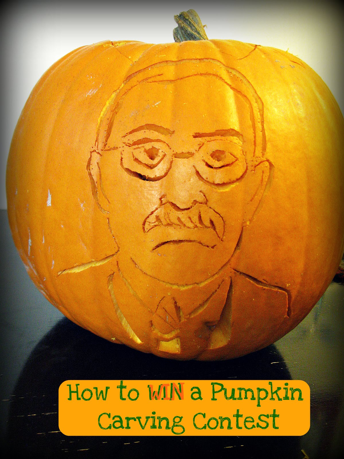 freshly completed how to win a pumpkin carving contest. Black Bedroom Furniture Sets. Home Design Ideas
