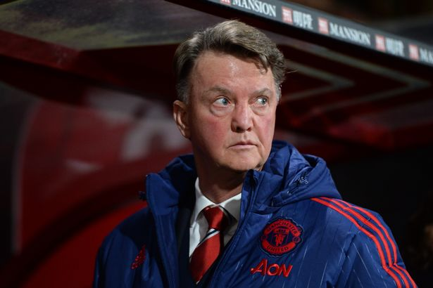 Feeling the heat: Van Gaal is under pressure after recent results