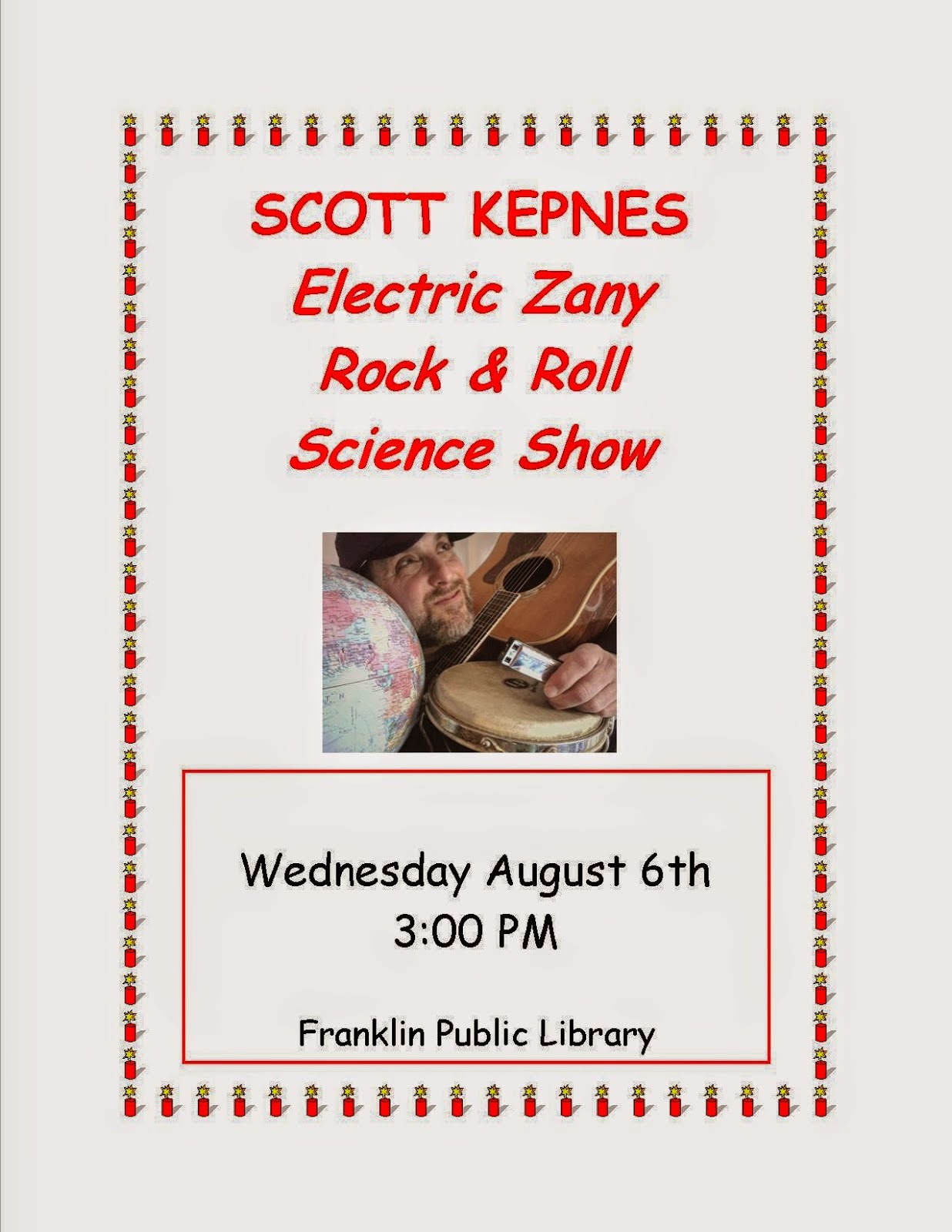 Electric Zany Rock & Roll Science Show
