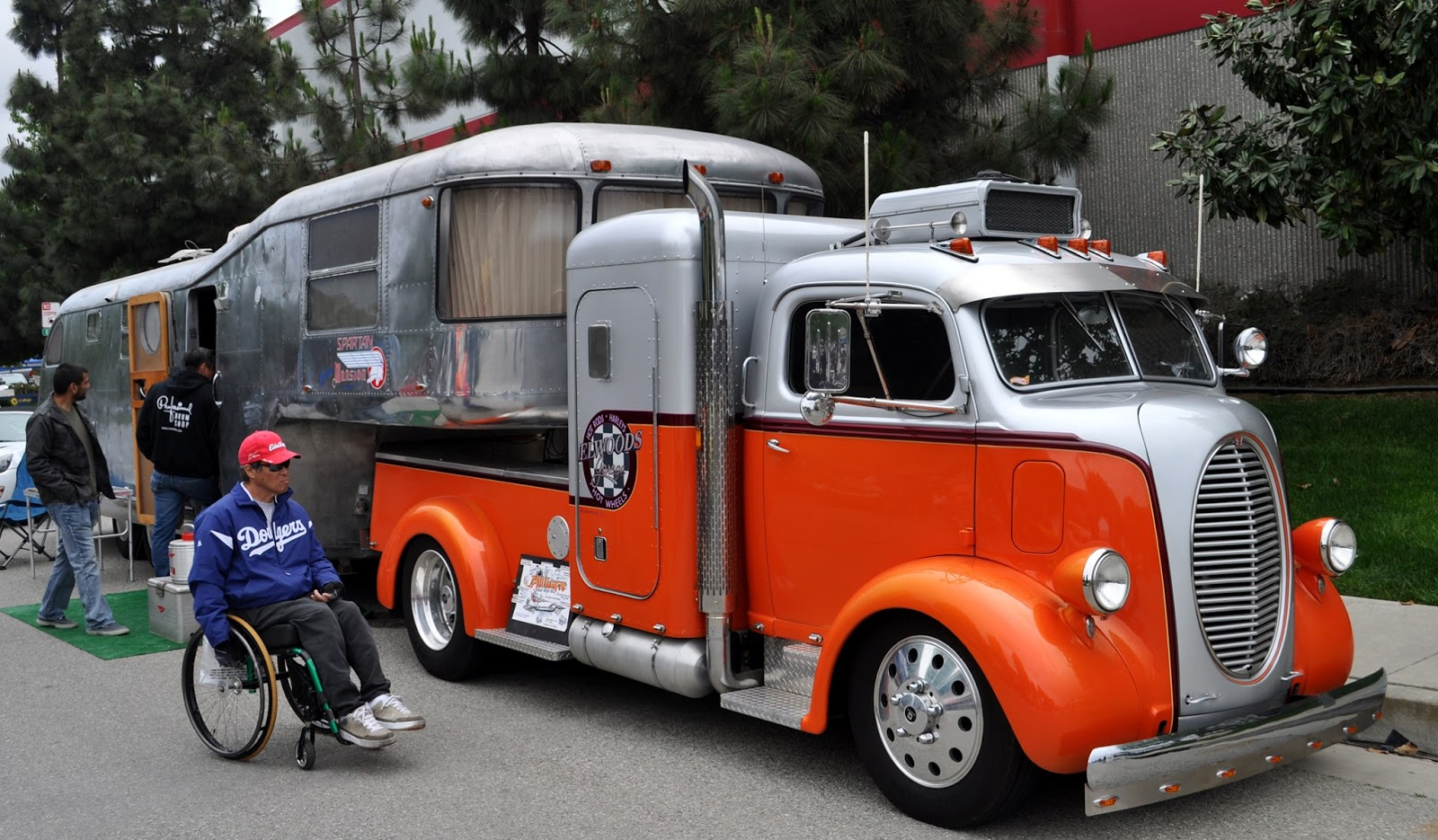 Just A Car Guy: Most impressive hot rod truck and trailer ...
