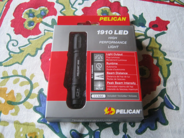 Peclican 1910 AAA Flashlight in box