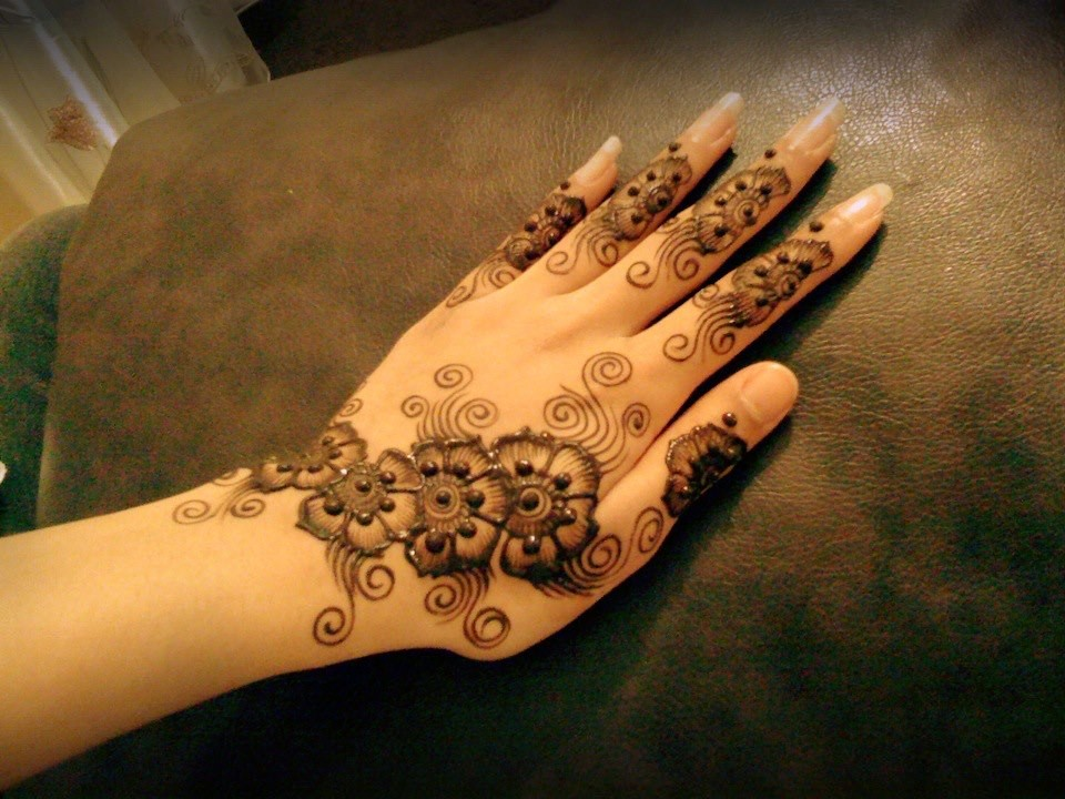 Mehndi Designs For Fingers Only : Menhdi designs  for hands top mehndi