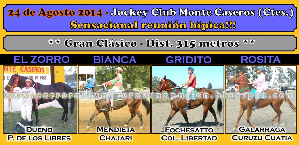MONTE CASEROS - 24.08.2014