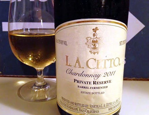 L.A. Cetto Private Reserve 2011 Chardonnay