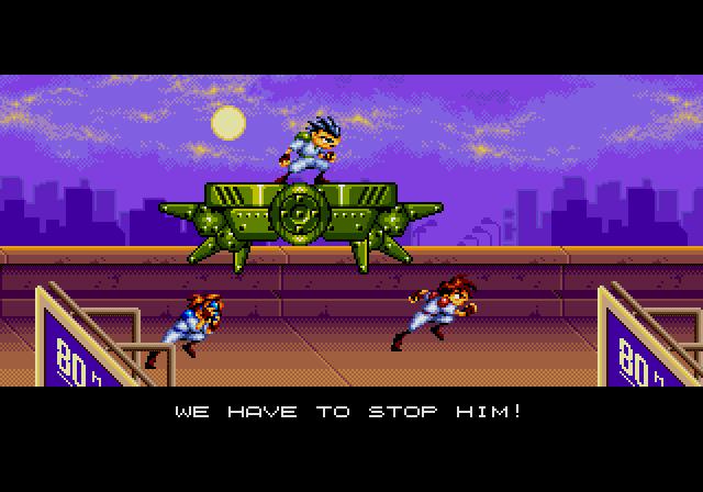 Gunstar Heroes (Genesis/Mega Drive)