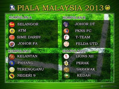 piala malaysia 2013 keputusan undian perlawanan malaysia keputusan