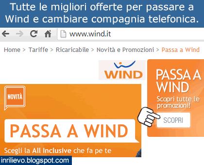 offerte passa wind