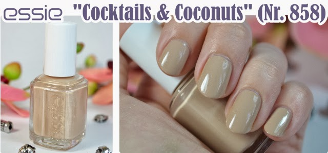 essie Resort 2014 Collection COCKTAILS & COCONUTS