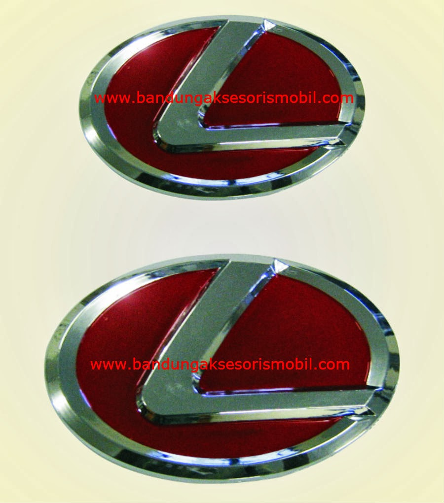 Emblem Paket Avanza 2004-2010 Model Lexus Merah