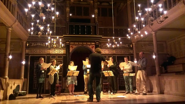 Alamire and David Skinner at the Sam Wanamaker Playhouse